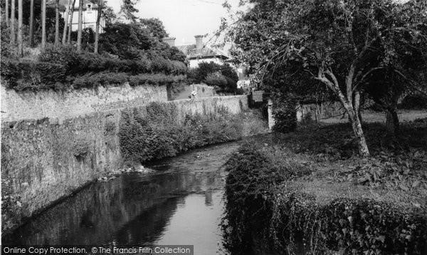 Buckfastleigh, The Stream c.1965