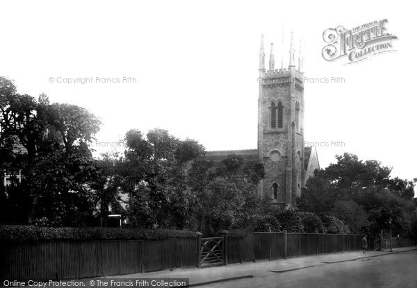 Photo of Buckhurst Hill, Congregational Church 1923