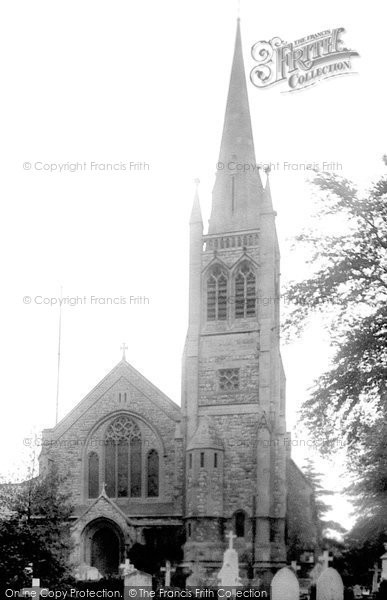 Photo of Buckhurst Hill, St John's Church 1923