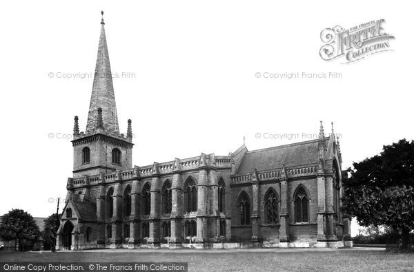 Buckingham, Church Of St Peter And St Paul c.1955