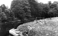 Buckingham, Great Ouse River And Children's Playground c.1950