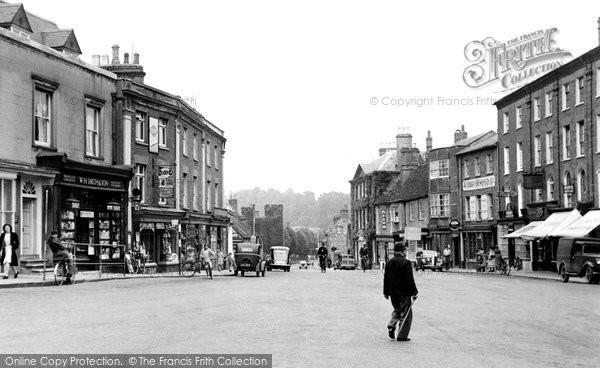 Buckingham, Market Square 1949