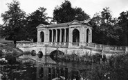 Buckingham, Palladian Bridge, Stowe School c.1955