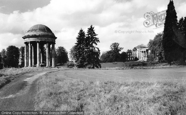 Buckingham, Rotunda And Chatham House, Stowe c.1960