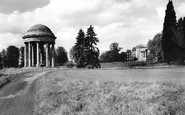 Buckingham, Rotunda And Chatham House, Stowe c.1960