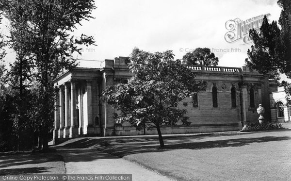 Buckingham, The Chapel, Stowe School c.1960