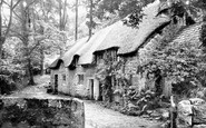 Buckland In The Moor, Cottages 1890