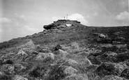 Buckland-In-The-Moor, On Buckland Beacon 1931