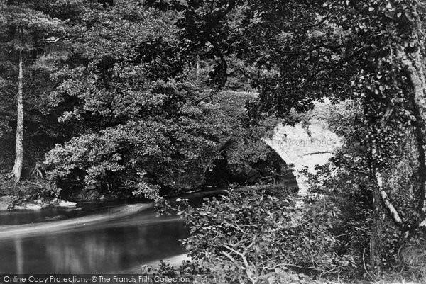 Buckland Monachorum, On The Tavy, Denham Bridge c.1874