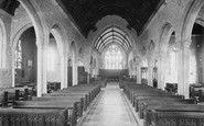 Buckland Monachorum, The Church Interior 1890