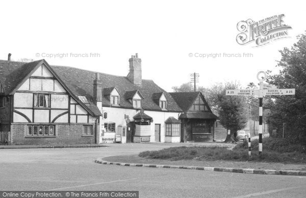 Buckland, Post Office Corner c.1955
