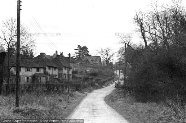 Buckland, Rectory Lane c.1955