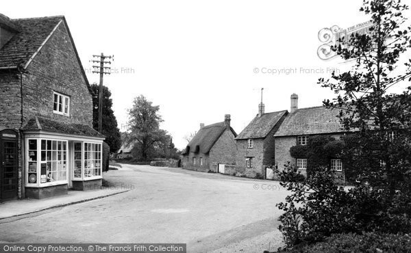 Photo of Buckland, Square and Post Office c1965