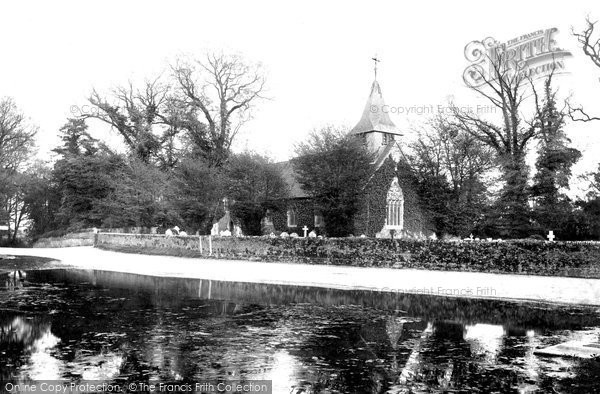 Buckland, St Mary The Virgin Church 1900