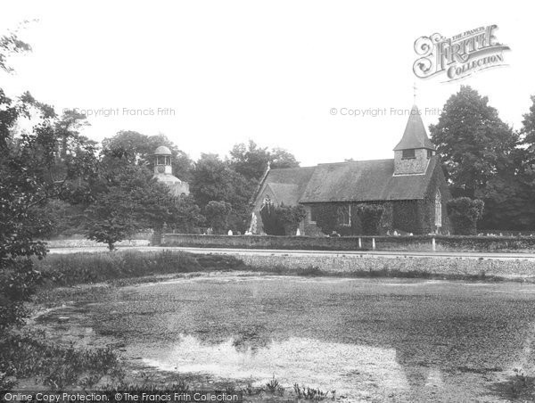 Buckland, St Mary The Virgin Church And Pond 1927