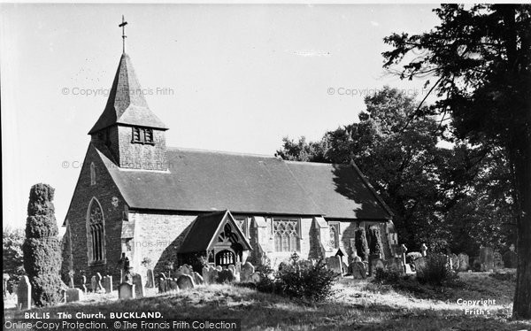 Buckland, St Mary The Virgin Church c.1955