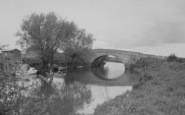 Buckland, Tadpole Bridge c.1965