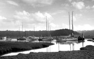 Bucklers Hard, The Beaulieu River c.1960