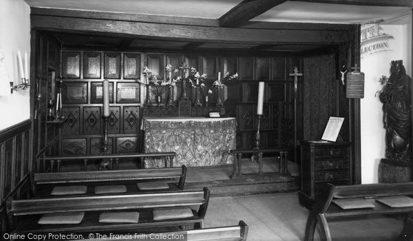 Bucklers Hard, The Chapel Of The Blessed Virgin Mary c.1960