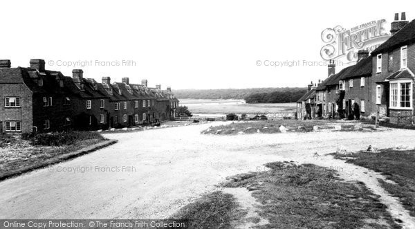 Bucklers Hard, The Village c.1960