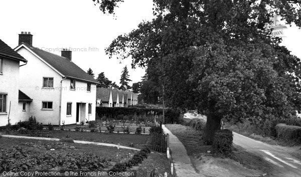 Bucklesham, Levington Lane c.1960