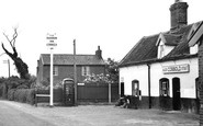 Bucklesham, The Shannon Inn c.1955