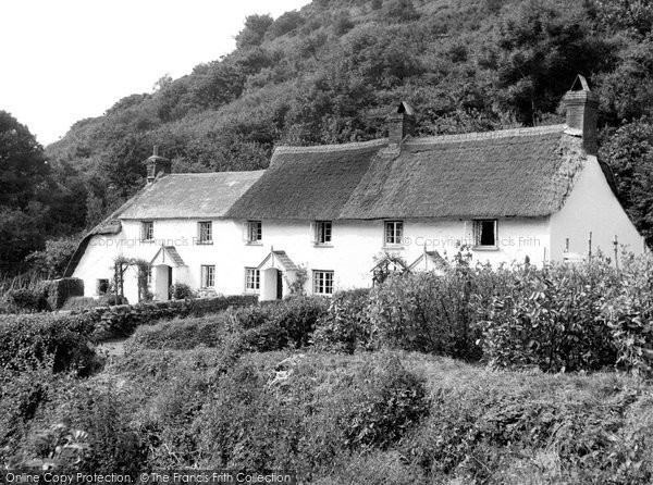 Photo of Bucks Mills, Cottages c1960