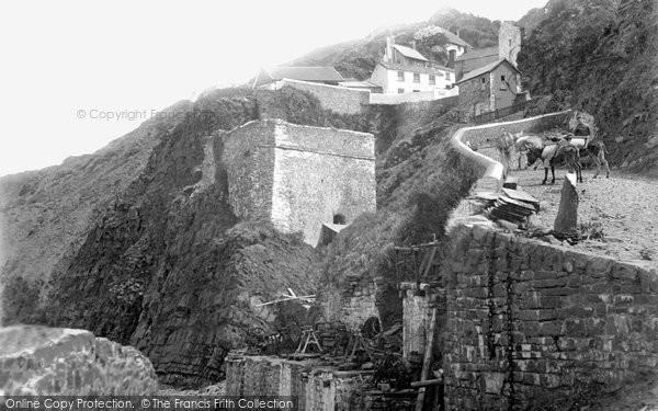 Bucks Mills, From Beach c.1890