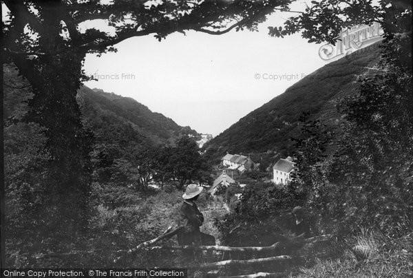 Bucks Mills, From The Woods 1906