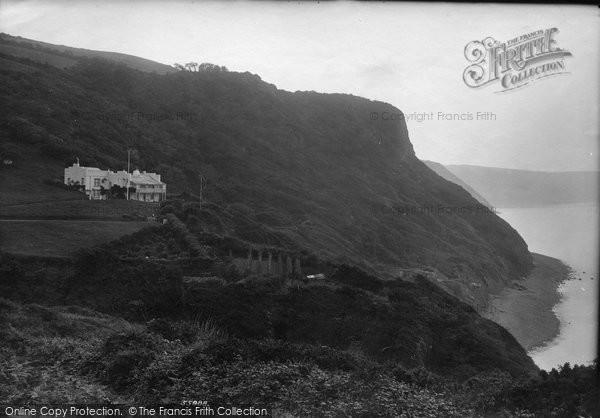 Bucks Mills, Peppercombe Castle 1906