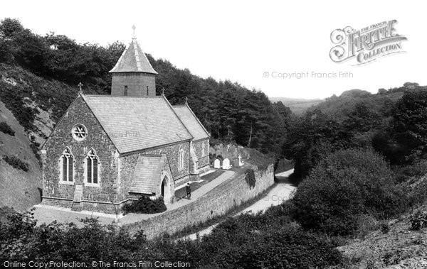 Bucks Mills, St Andrew's Church 1906
