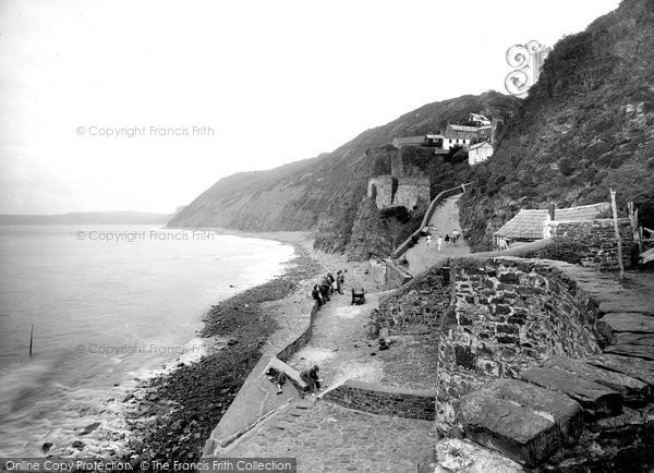Bucks Mills, The Cliffs 1935