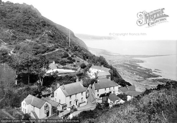 Photo of Bucks Mills, the Village and Beach 1906