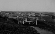 Bude, A View Of The Town 1910