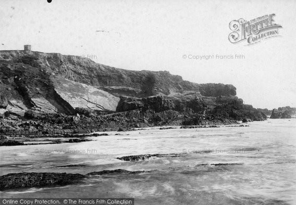 Bude, Beacon Cliff 1893