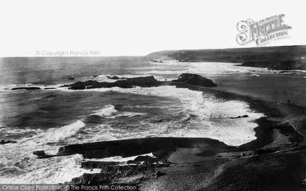 Bude, Breakwater 1900