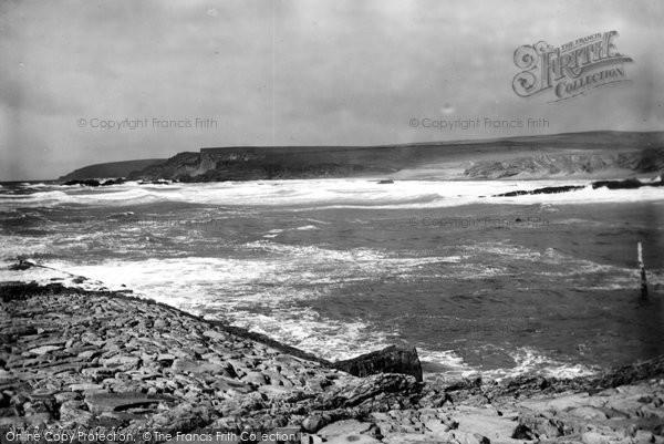 Bude, Breakwell And Coast 1890