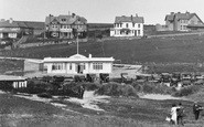 Bude, Cafe At Crooklets 1931