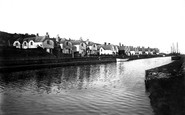 Bude, Canal Cottages 1890