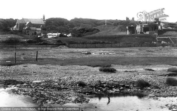Bude, Castle And Church 1906