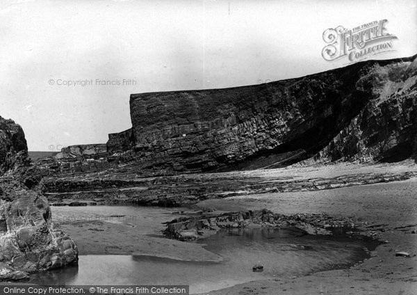 Bude, Cliffs 1893