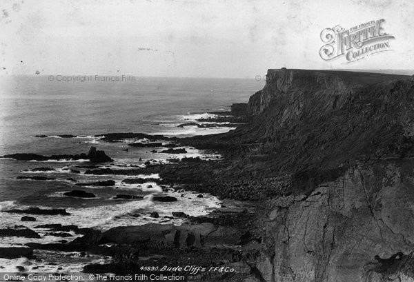 Bude, Cliffs 1900