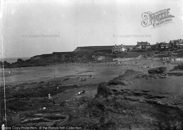 Bude, Crooklets And Maer Beach 1931