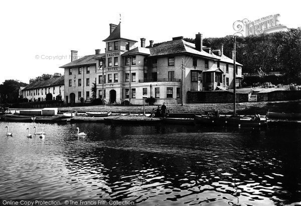 Bude, Falcon Hotel 1920