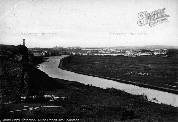 Bude, From Canal 1890