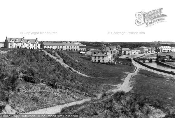 Bude, From Summerleaze Down 1893