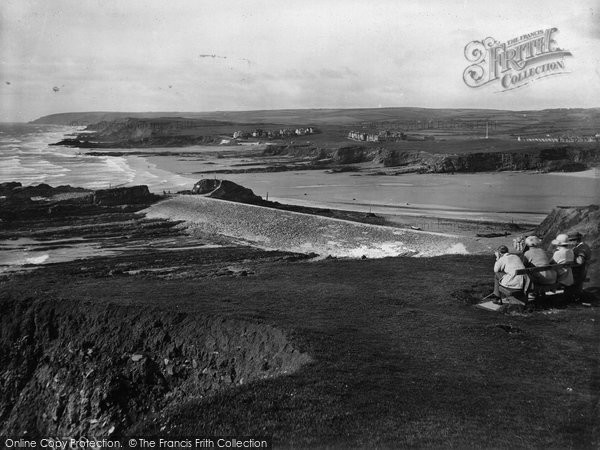 Bude, Looking North 1920