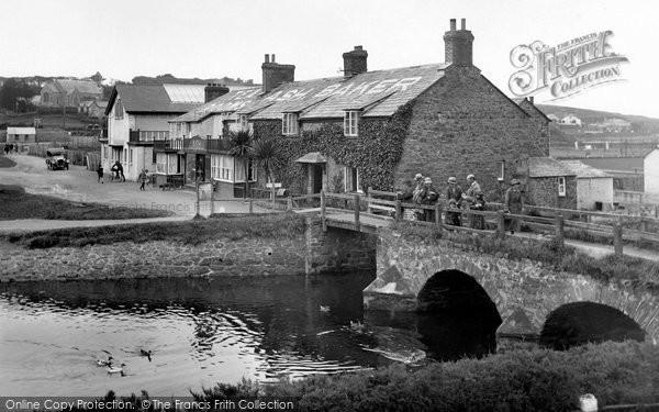 Bude, Nanny Moore's Bridge 1926