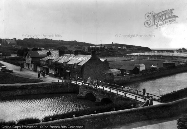 Bude, Nanny Moore's Bridge And Tennis Courts 1931