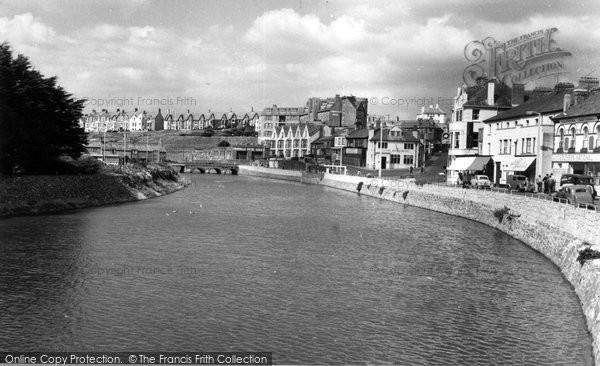 Bude, Nanny Moore's Bridge c.1960